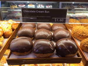 BERKELEY-Tele-Sheng Kee Bakery-chocolate cream bun-c2014 Carole Terwilliger Meyers-iPhone-300pix