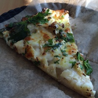 EMERYVILLE-Arizmendi Bakery& Pizzeria-cauliflower pizza slice-c2014 Carole Terwilliger Meyers-iPhone-200pix