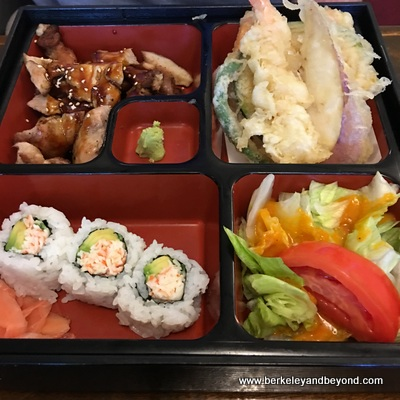 SF-Japantown-East Mall-Takara Restaurant-lunch box-c2016 Carole Terwilliger Meyers-400pix