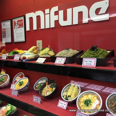 SF-Japantown-West Mall-Mifune-exnterior menu display-c2016 Carole Terwilliger Meyers-400pix