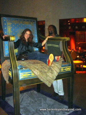 SF-Clift-Dodge-Suzie in big chair 2-c2007 Carole Terwilliger Meyers-fnl-400pix