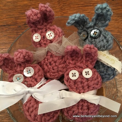 bunch of crocheted bunnies 1-c2017 Carole Terwilliger Meyers-400pix