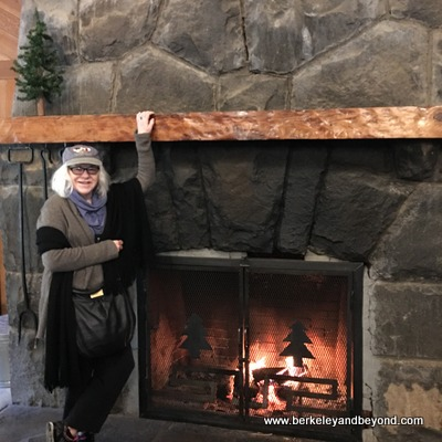 OREGON-SILVERTON-Silver Falls State Park-South Falls Lodge-interior-fireplace+Carole-c2017 xx-400pix