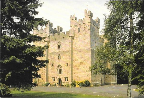 Langley Castle-postcard-1996-600pix