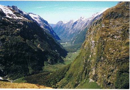 16-loos with a view-MacKinnon Pass-Fiordland National Park-New Zealand-c2002 Suzanne Fluhr
