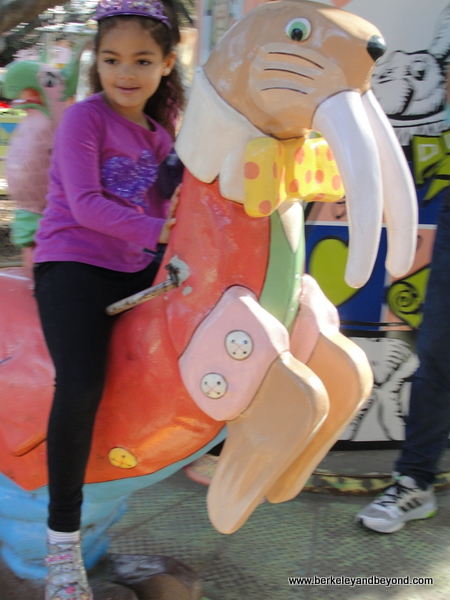 9-carousels-Children's Fairyland-Wonder-Go-Round 2-Oakland-Meadow on walrus-c 2014 Carole Terwilliger Meyers-600pix
