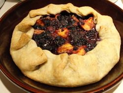 RECIPE-Galette 1-blackberry-peach-c Carole Terwilliger Meyers-250pix