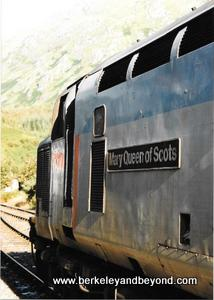SCOTLAND-Royal Scotsman-Mary Queen of Scots engine-c Carole Terwilliger Meyers-300pix