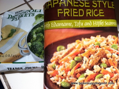 RECIPE-BAB-TJ's Japanese Rice with broccoli-c2014 Carole Terwilliger Meyers-iPhone-400pix
