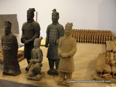 CHINA-XI'AN-Terracotta Warriors-workshop-warriors 2-c 2015 Carole Terwilliger Meyers-400pix