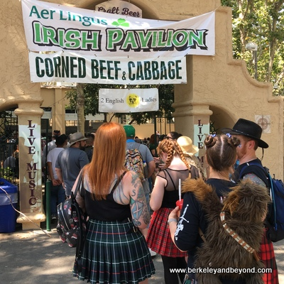 PLEASANTON-Scottish Highland Gathering-food-Irish Pavilion 1-c2018 Carole Terwilliger Meyers-400pix