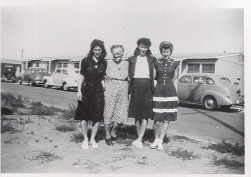 Rosie the Riveter-Gma Frieda Furst-Gertie-Helen-Esther-1946ish